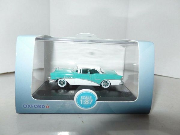Oxford USA 87BC55001 BC55001 1/87 Buick Century 1955 Turquoise And Polo White